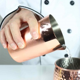 Mixing Glass Jarra Pequeña Acero Inox Color Cobre