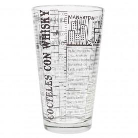 Vasos Boston Vidrio Recetas Coleccionables 4 Vasos
