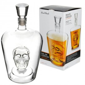 Botella Decanter Calavera 1 Litro